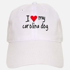 I LOVE MY Carolina Dog Baseball Baseball Cap