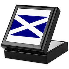 Cute Scotland Keepsake Box