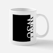 WSU Typography Mug