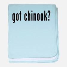 GOT CHINOOK baby blanket