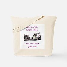 Rat Chips Tote Bag