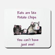 Rat Chips Mousepad
