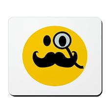 Monocle Smiley Mousepad