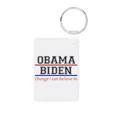 Obama Biden Change Keychains