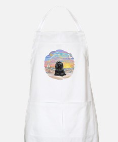OceanSunrise-BlackCocker Apron