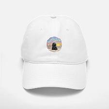 OceanSunrise-BlackCocker Cap