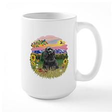 Mt. Country-Black Cocker Mug