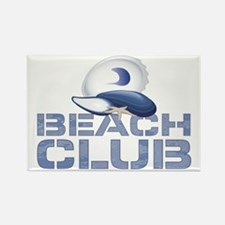 Beach Club Rectangle Magnet