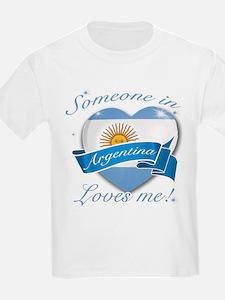 Argentina Flag Design T-Shirt