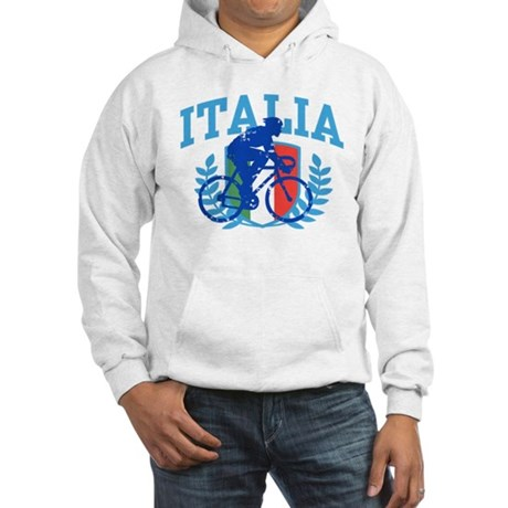 Italia Cycling (male) Hooded Sweatshirt