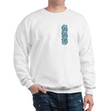 Crane Salmon & Tide front/back Sweatshirt