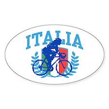 Italia Cycling (female) Bumper Stickers
