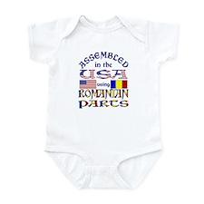 USA/Romanian Parts Infant Creeper