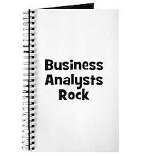 BUSINESS ANALYSTS Rock Journal
