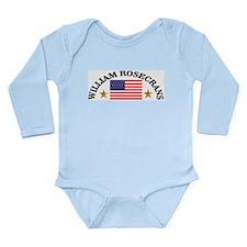William Rosecrans, USA Long Sleeve Infant Bodysuit