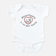 Breastfeeding is the best fee Infant Creeper