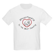 Breastfeeding is the best fee Kids T-Shirt