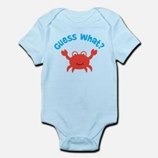 Crab Big Brother To Be Infant Bodysuit