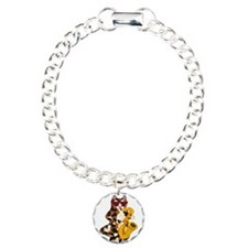 Calico Cat Playing Saxophone Bracelet
