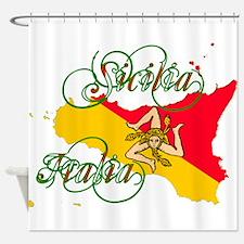 Sicilia Italia Shower Curtain