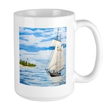 Pleasant Breeze Off Cape May Mug