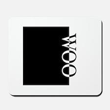WOO Typography Mousepad