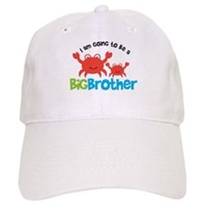 Crab going to be a Big Brothe Baseball Cap