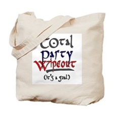 Total Party Wipeout Tote Bag
