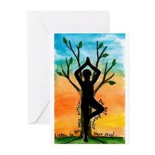 Yoga Greeting Cards (Pk of 10)