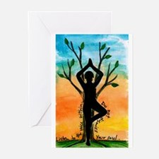 Yoga Greeting Cards (Pk of 10)