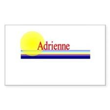 Adrienne Rectangle Decal