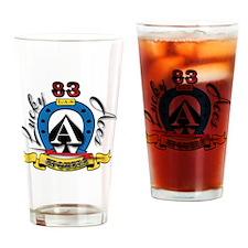 83rd LAS Drinking Glass