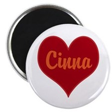 I Love Cinna Magnet