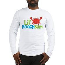 Boy Crab Lil' Beach Bum Long Sleeve T-Shirt