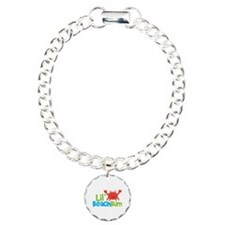 Boy Crab Lil' Beach Bum Charm Bracelet, One Charm