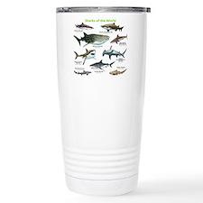 Sharks of the World Travel Mug