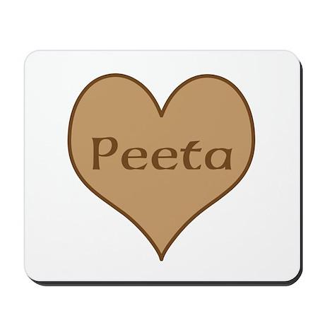 I Heart Peeta Mousepad