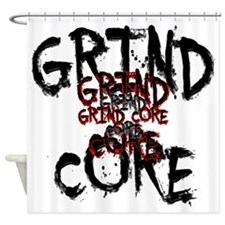 Grind Core Shower Curtain