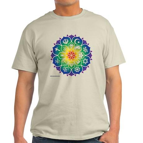 Religions Mandala Light T-Shirt