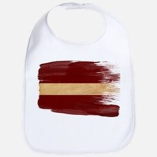 Latvia Flag Bib