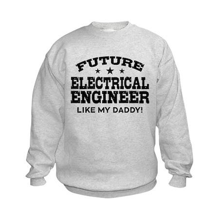 Future Electrical Engineer Kids Sweatshirt