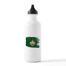 Macau Flag Water Bottle