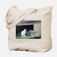 Funny Stray cats Tote Bag