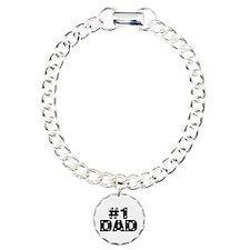 #1 Dad Bracelet