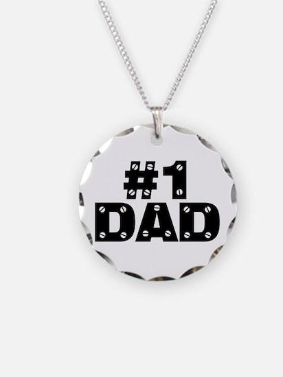 #1 Dad Necklace