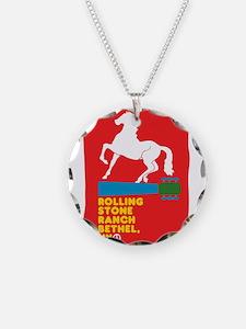 Unique Rolling stone Necklace
