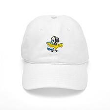 Blue and Gold Parrot logo Baseball Cap