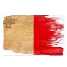 Malta Flag Postcards (Package of 8)