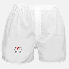 I LOVE MY Guppy Boxer Shorts