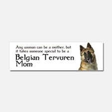Belgian Tervuren Mom Car Magnet 10 x 3